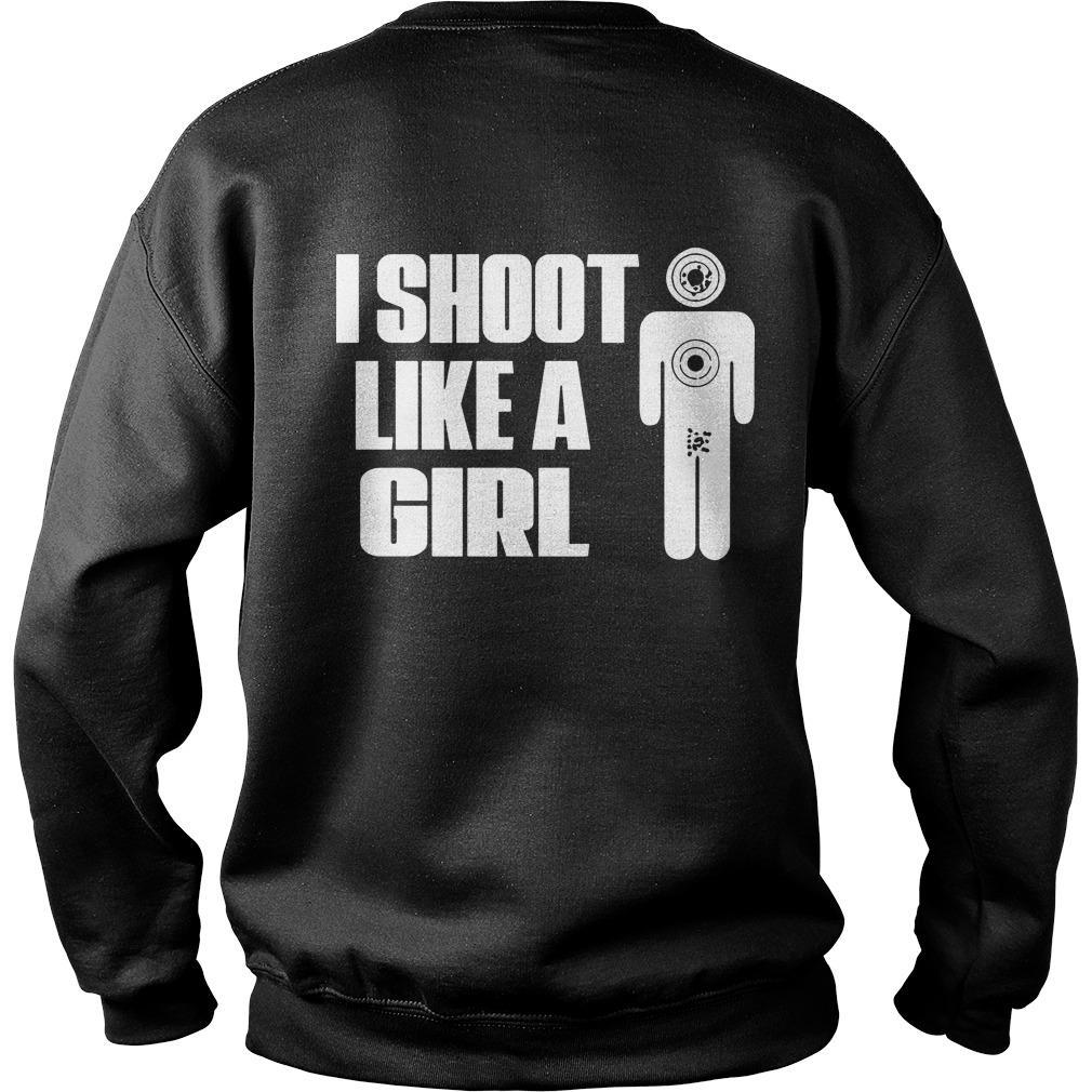 I Shoot Like A Girl Sweater