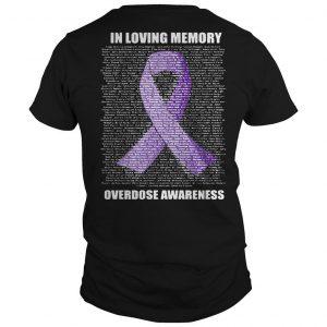 In Loving Memories Overdose Awareness Shirt
