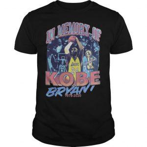 In Memory Of Kobe Bryant Shirt