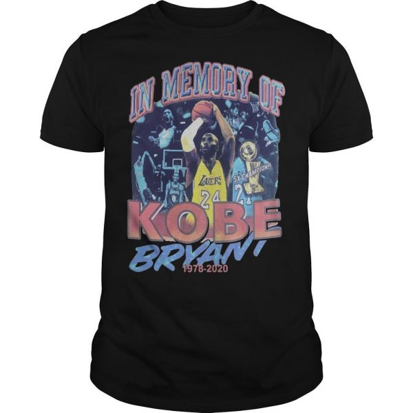 In Memory Of Kobe Bryant Shirt
