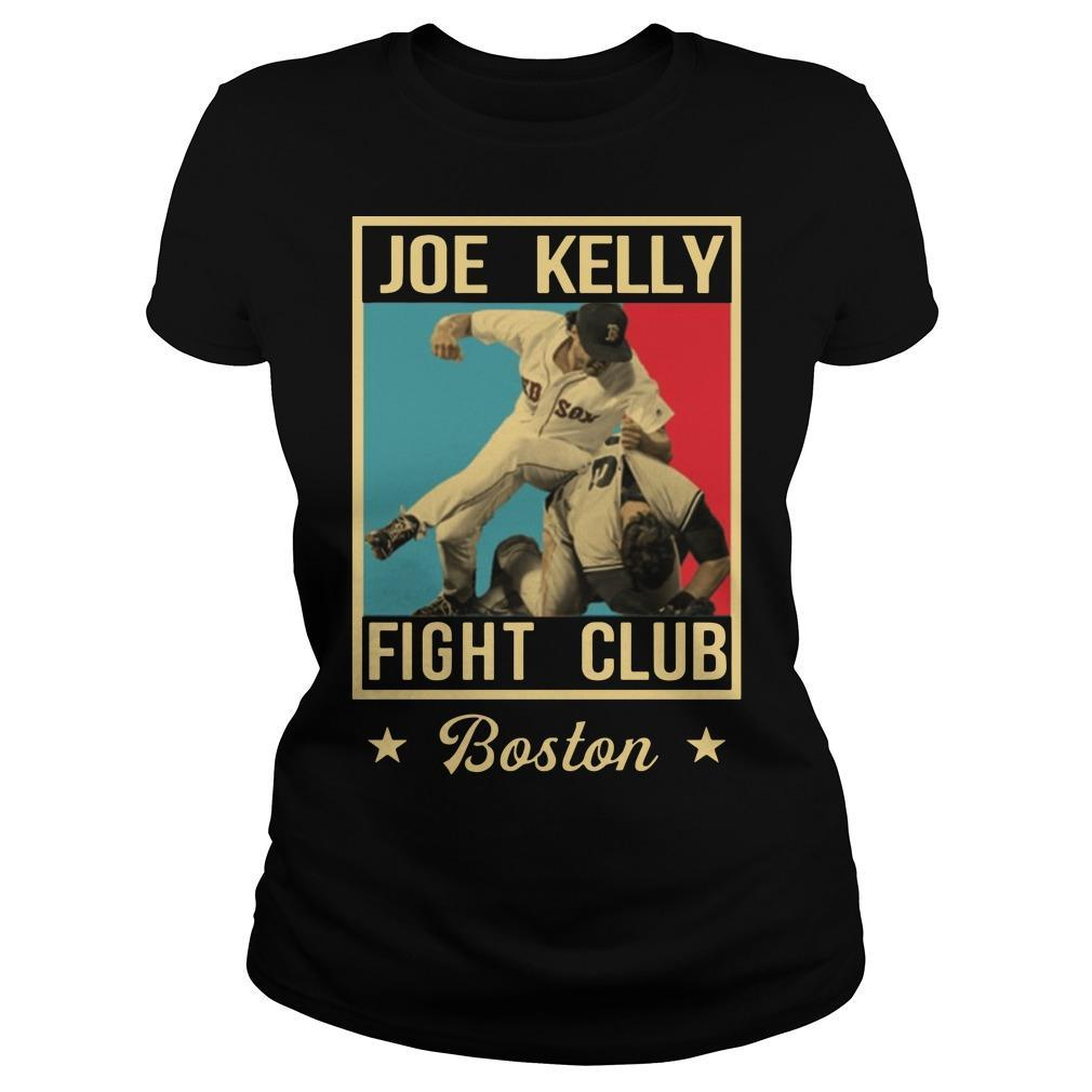 Joe Kelly Fight Club T Longsleeve
