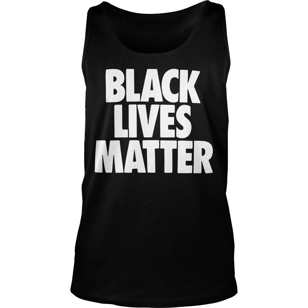 Nba Players Social Justice Lebron James Black Lives Matter Tank Top