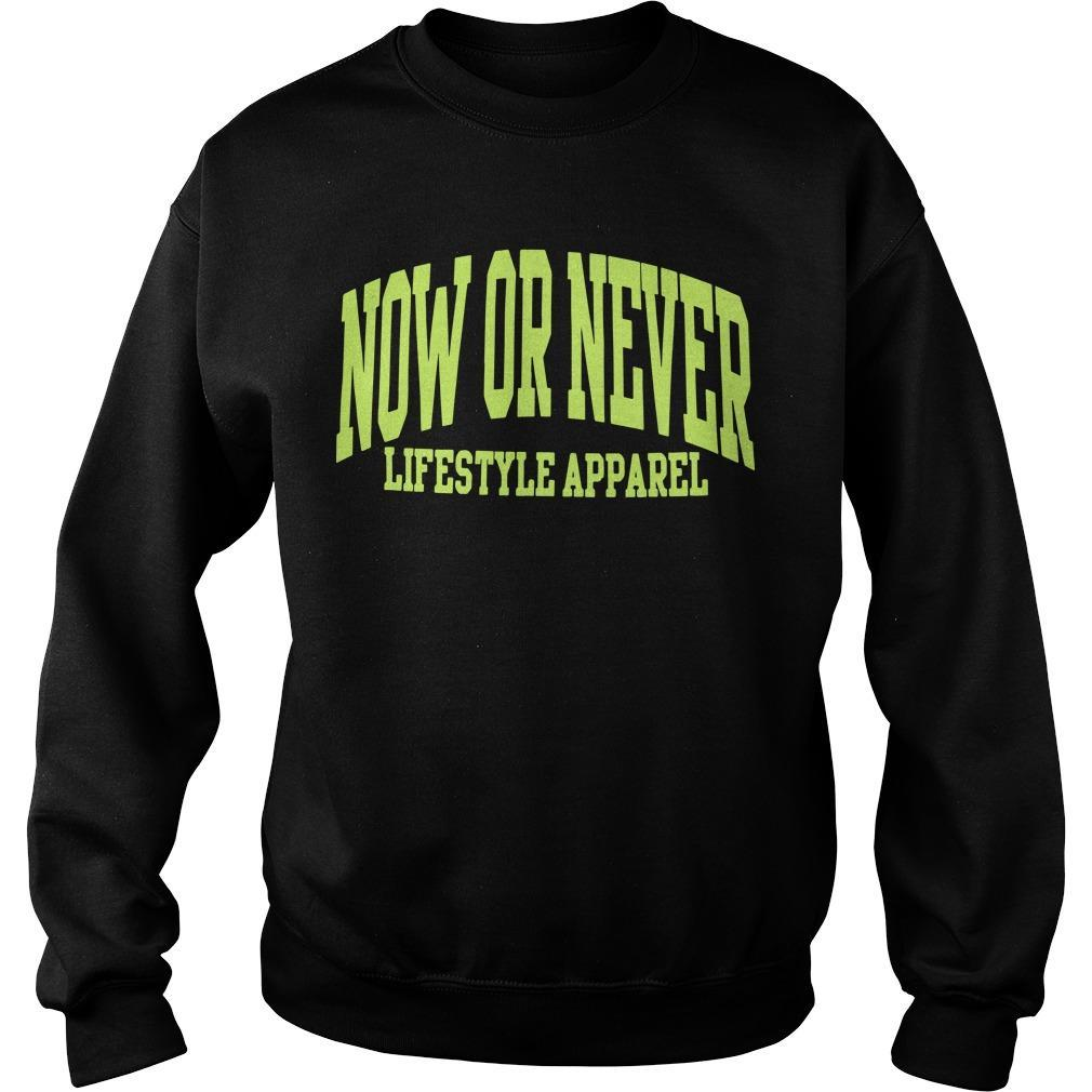 Now Or Never Lifestyles Apparel Sweater