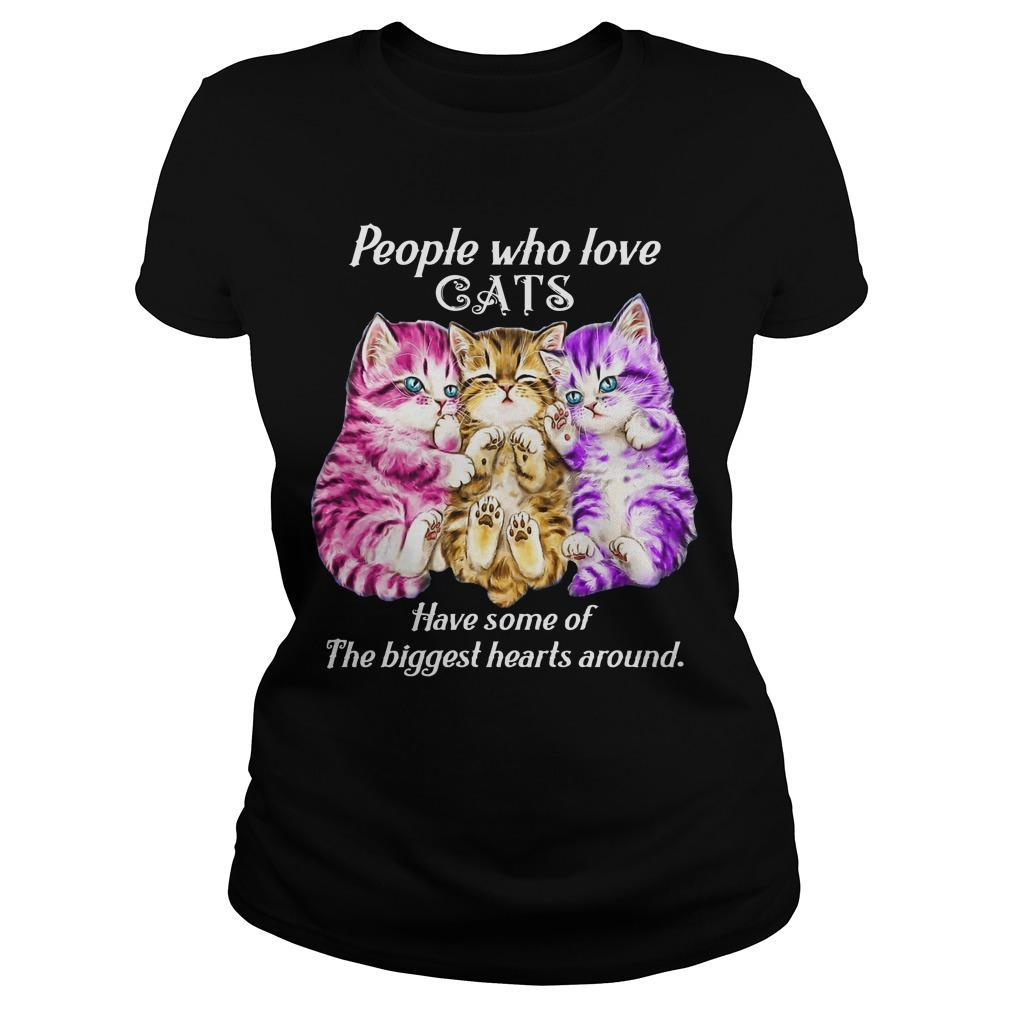 People Who Love Cats Have Some Of The Biggest Hearts Around Longsleeve