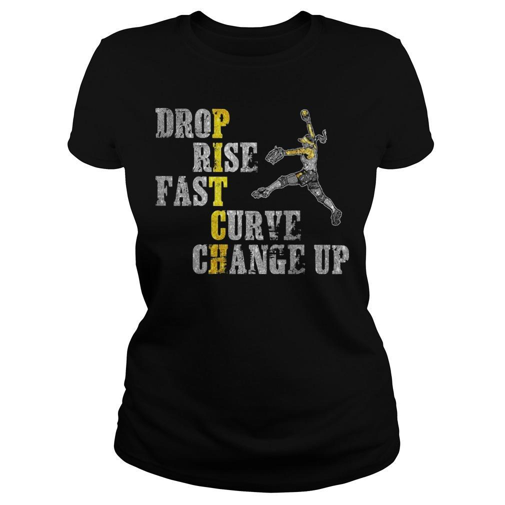Pitch Drop Rise Fast Curve Change Up Longsleeve