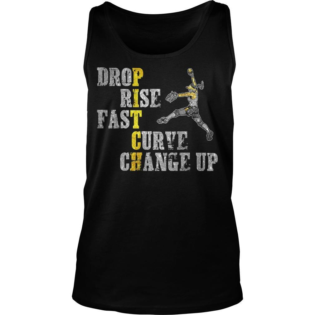 Pitch Drop Rise Fast Curve Change Up Tank Top