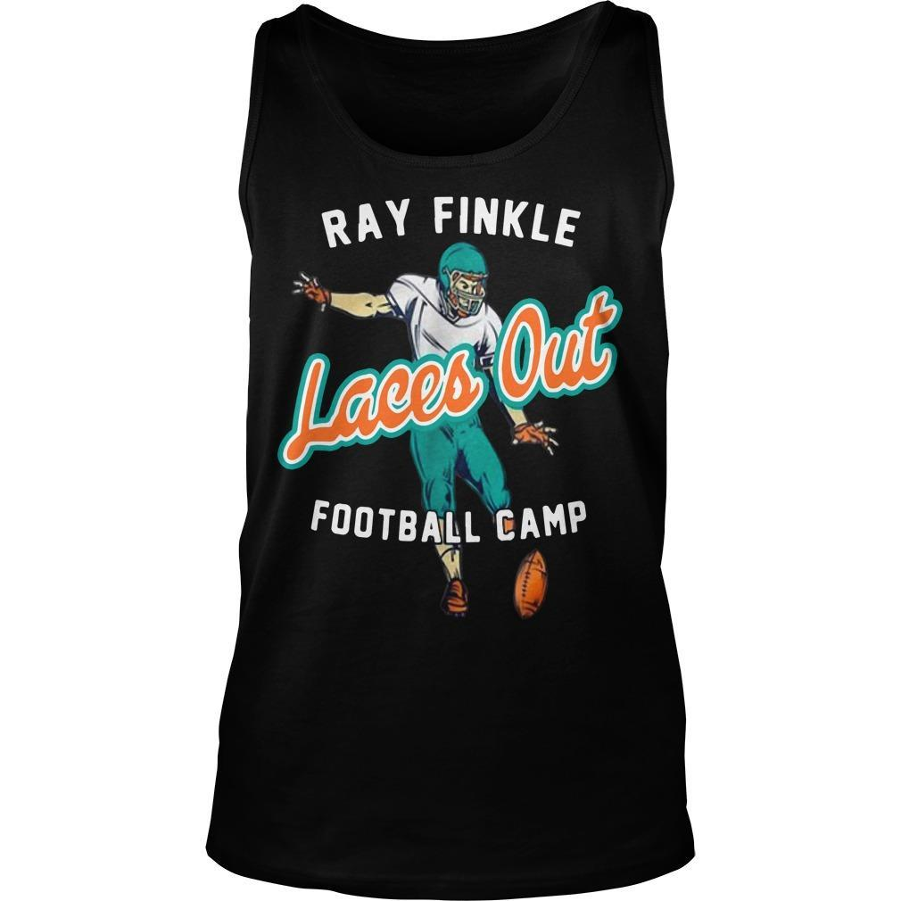 Ray Finkle Laces Out Football Camp Tank Top