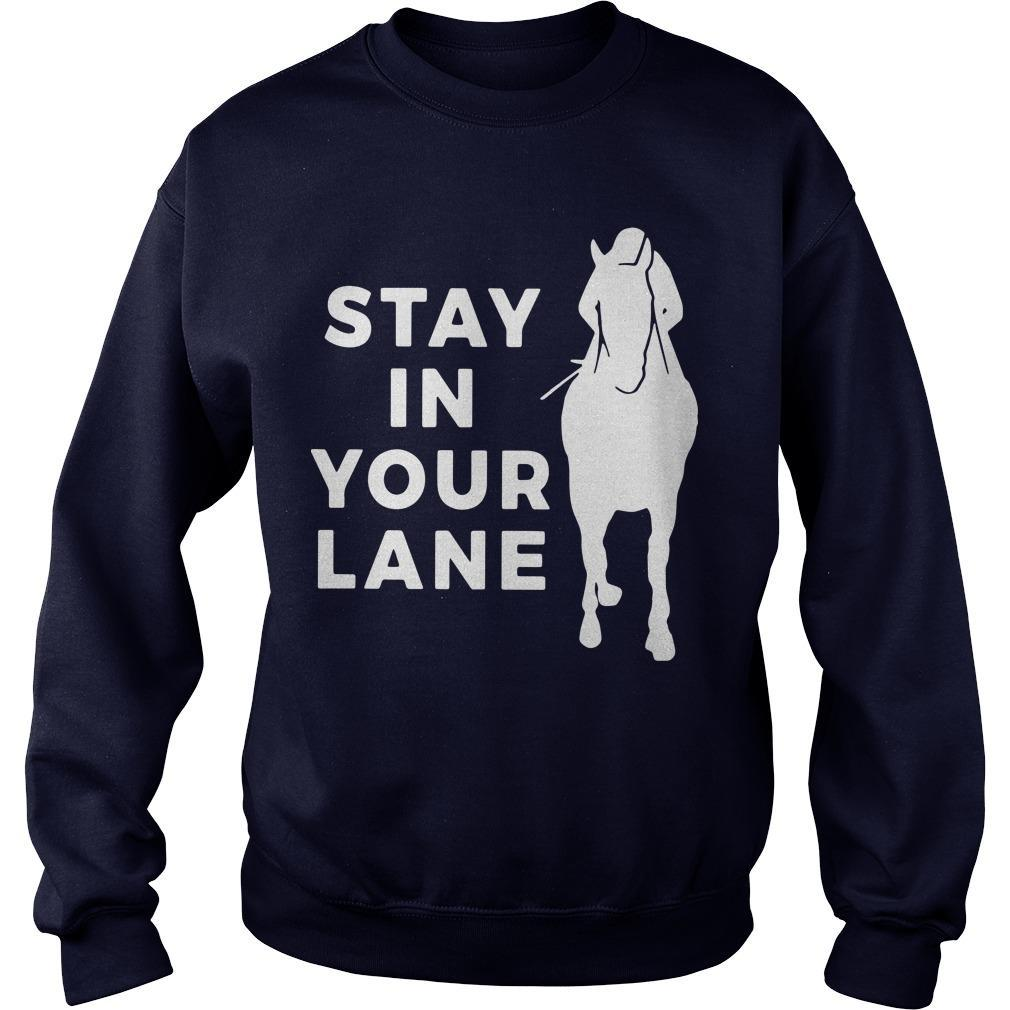 Stay In Your Lane Sweater