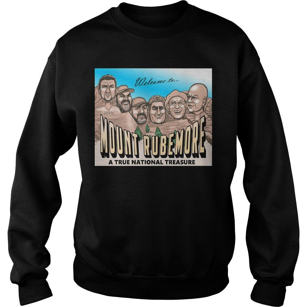 Welcome To Mount Rubemore A True National Treasure Sweater