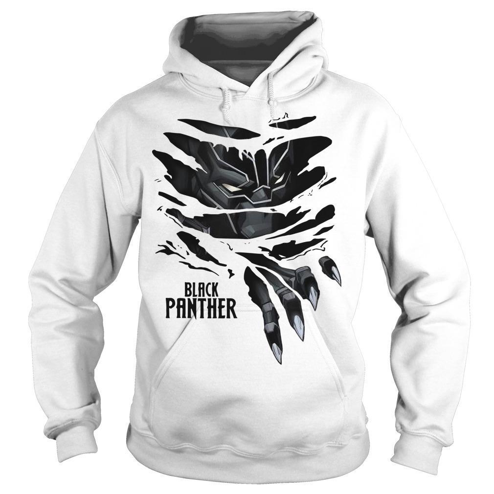 Black Panther Marvel T Hoodie