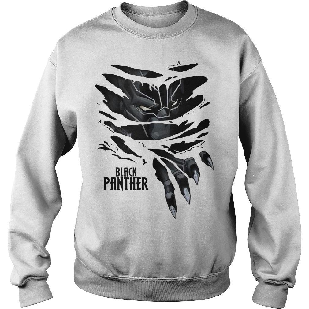Black Panther Marvel T Sweater