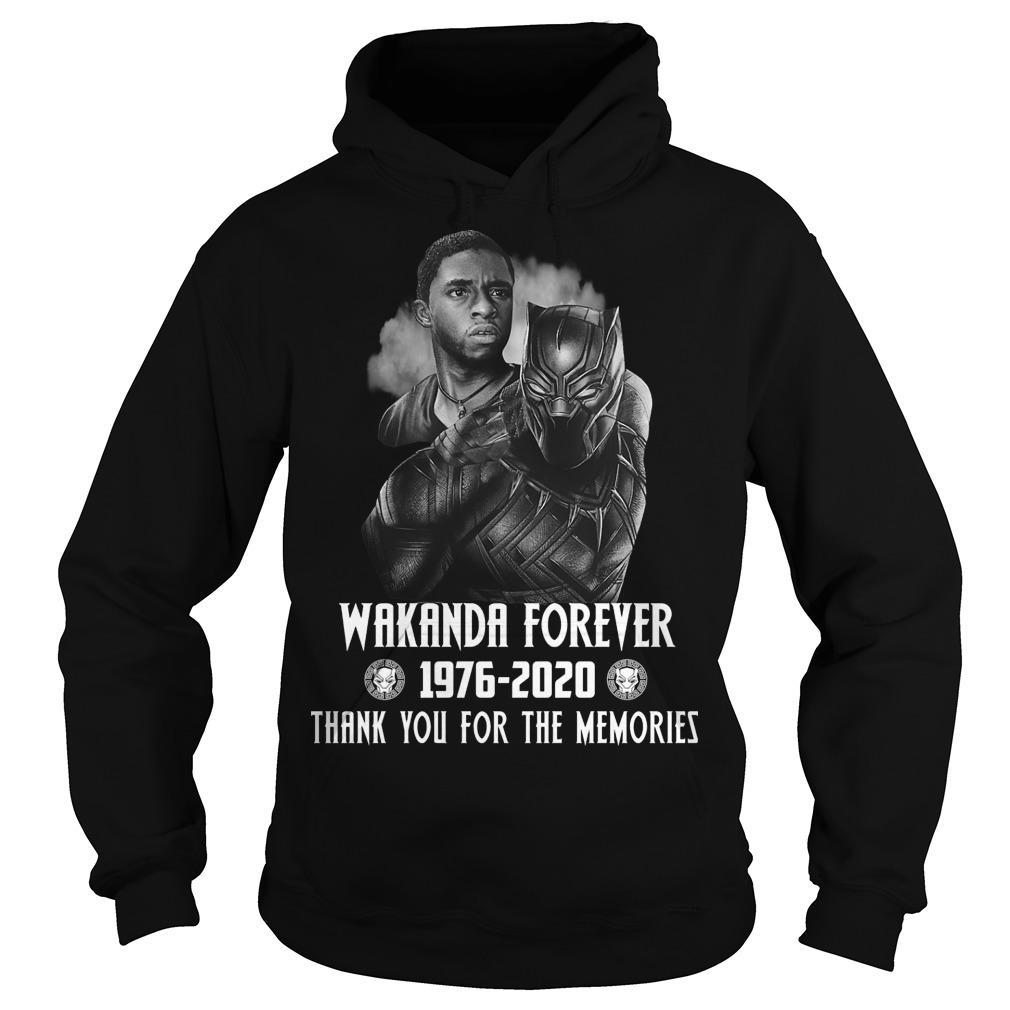 Black Panther Wakanda Forever Thank You For The Memories Hoodie