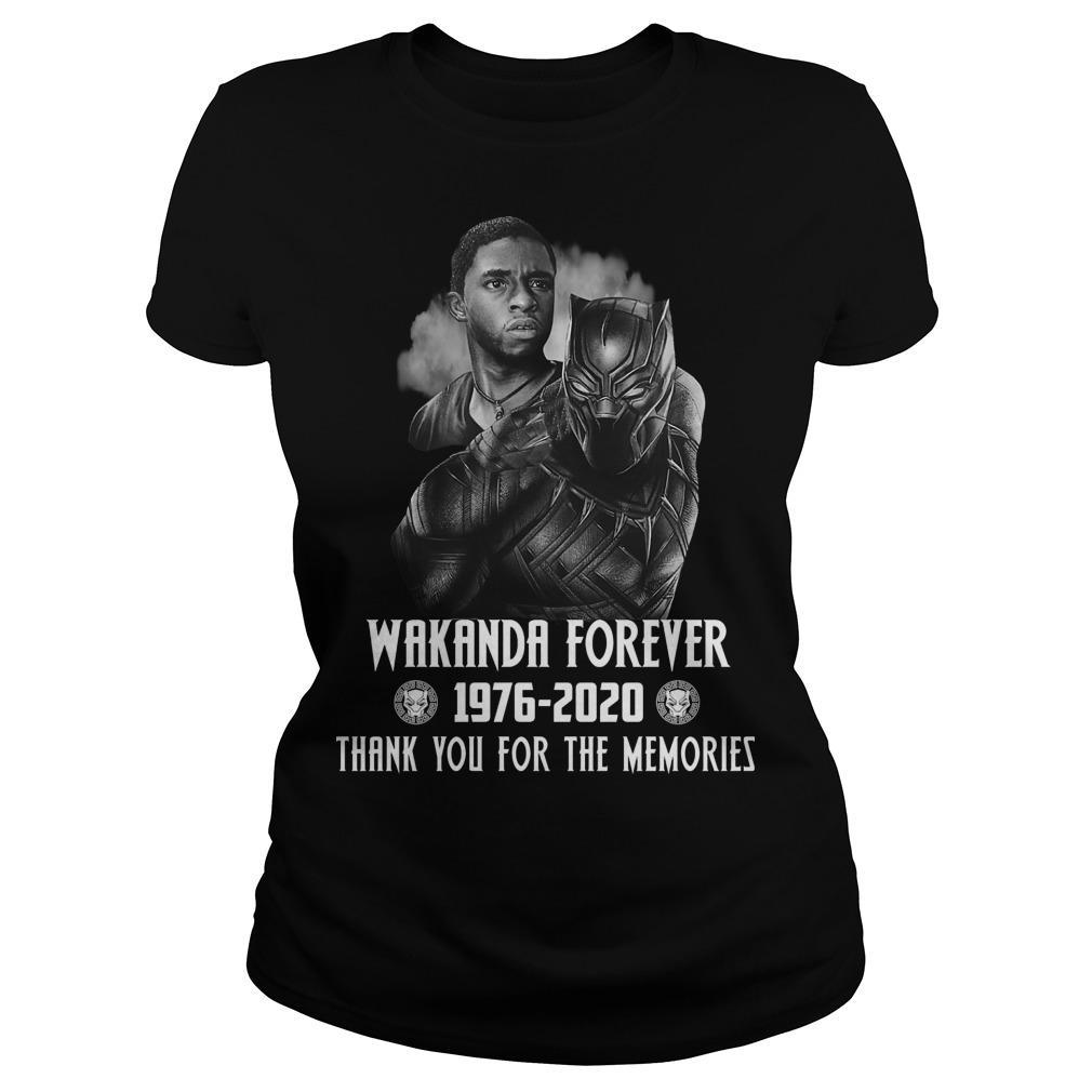 Black Panther Wakanda Forever Thank You For The Memories Longsleeve