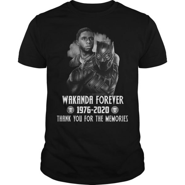 Black Panther Wakanda Forever Thank You For The Memories Shirt