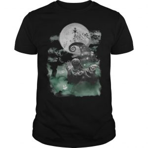 Halloween Full Moon Jack Skellington Shirt