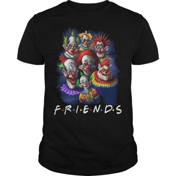 Horror Character Friends Halloween Shirt