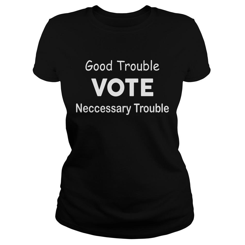 Mike D'antoni Good Trouble Vote Necessary Trouble Longsleeve