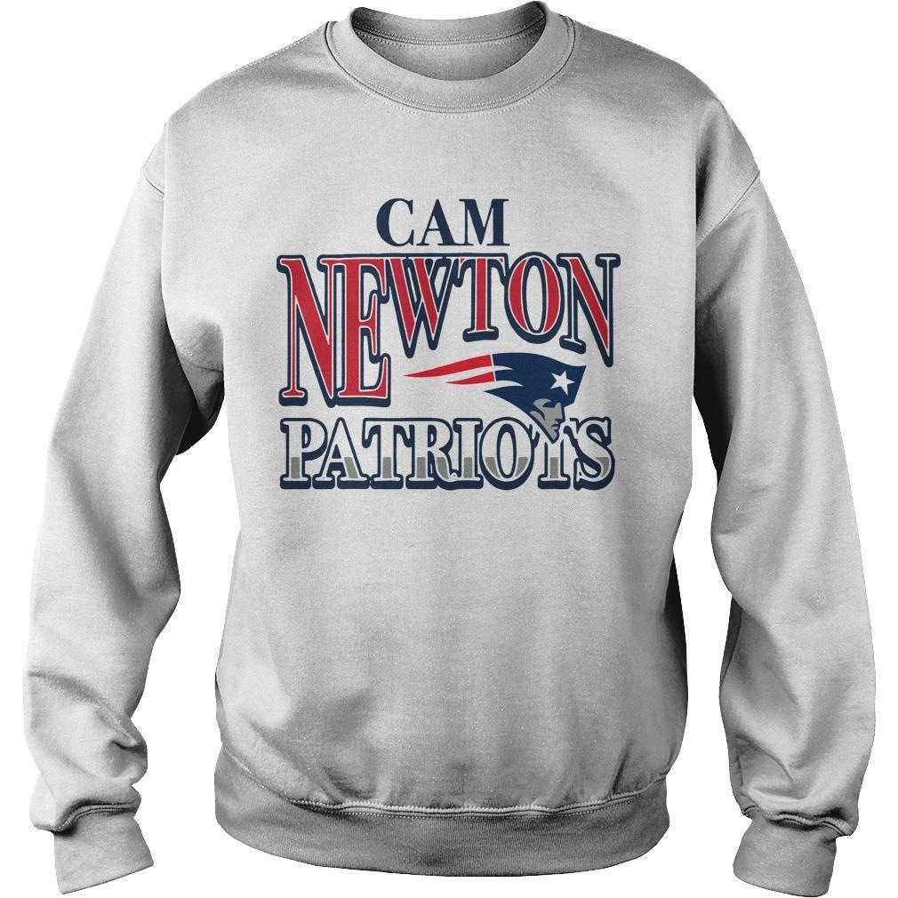Patriots Cam Newton Sweater