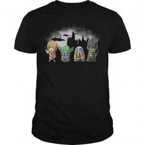 Star Wars Baby Yoda Darth Vader Shirt
