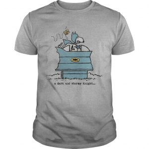 The Peanuts Snoopy A Dark And Stormy Knight Shirt