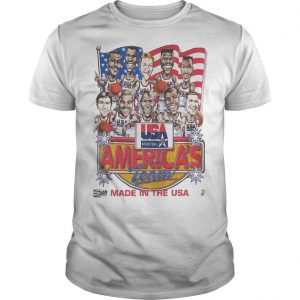 Usa Basketball America's Team Made In The Usa Shirt