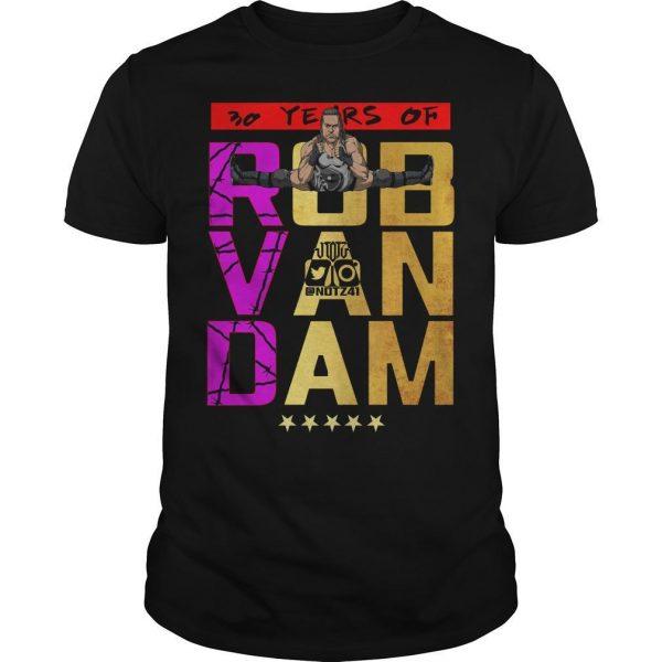 30 Years Of Rob Van Dam Shirt