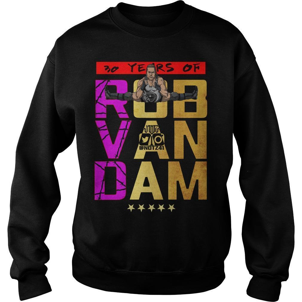 30 Years Of Rob Van Dam Sweater