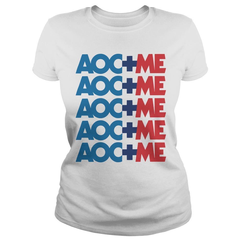 Alexandria Ocasio Cortez Aoc Plus Me Longsleeve