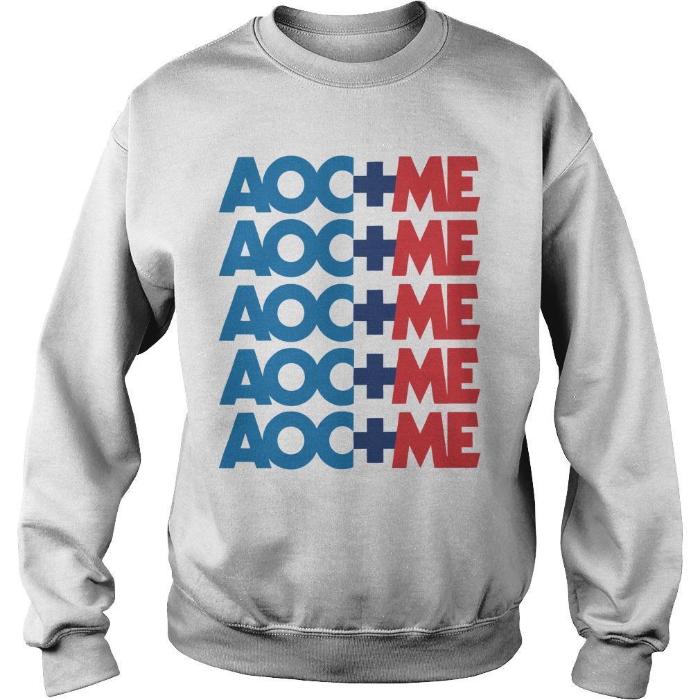 Alexandria Ocasio Cortez Aoc Plus Me Sweater