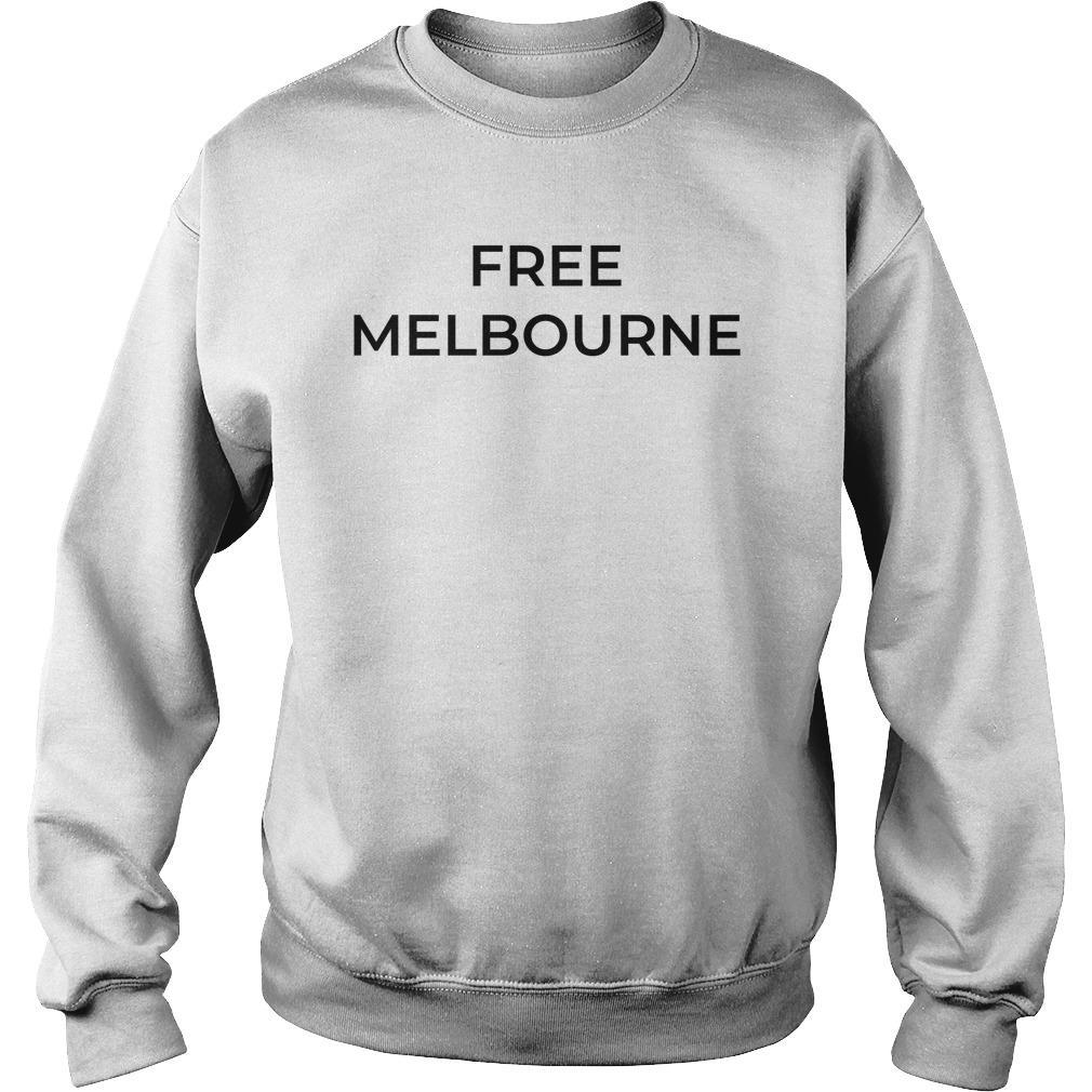 Bec Judd Free Melbourne T Sweater