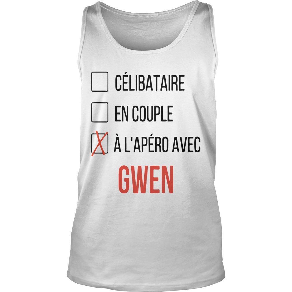 Célibataire En Couple À L'apéro Avec Gwen Tank Top