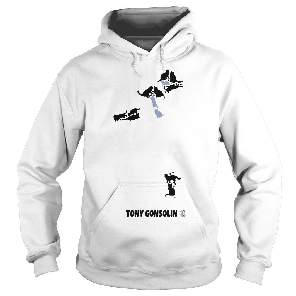 Cat Man Tony Gonsolin Hoodie