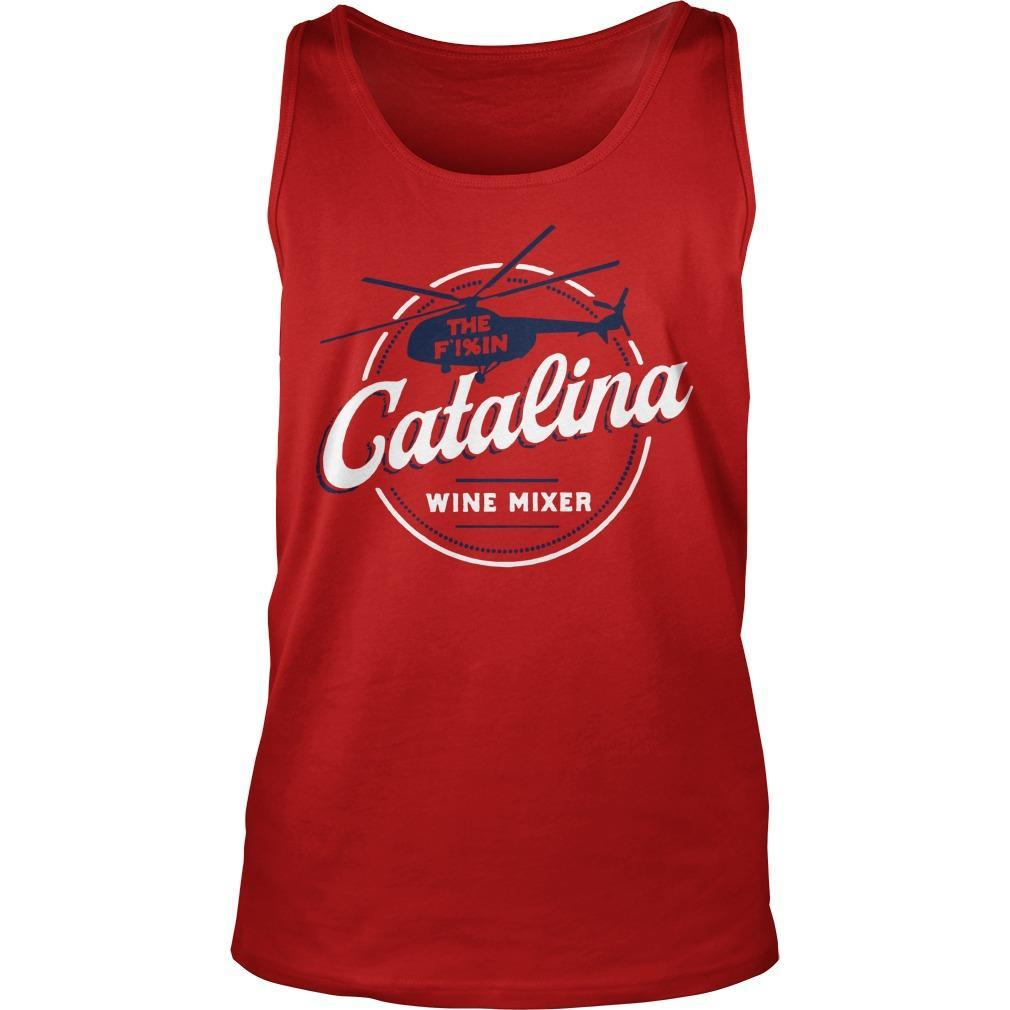 Catalina Wine Mixer Tank Top