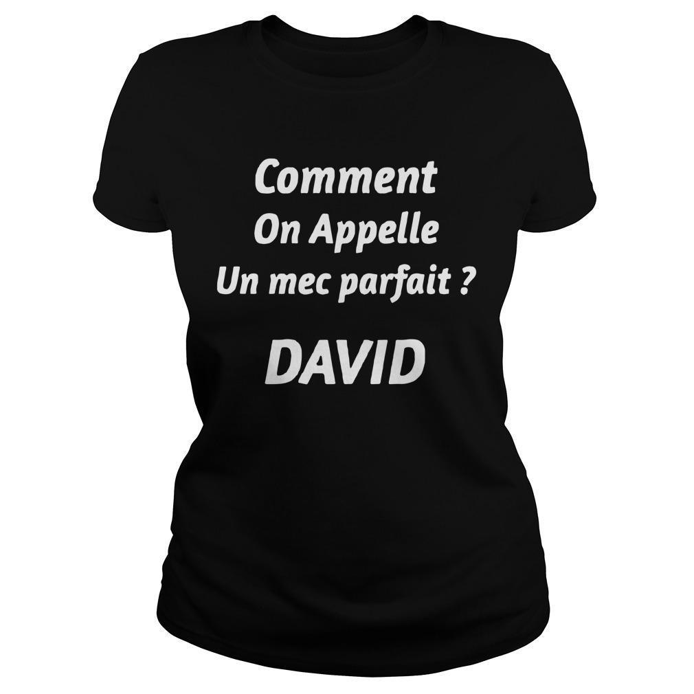 Comment On Appelle Un Mec Parfait David Longsleeve