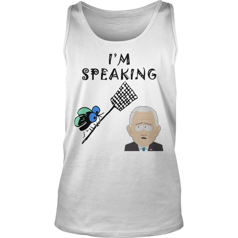 Fly Swatter I'm Speaking Tank Top