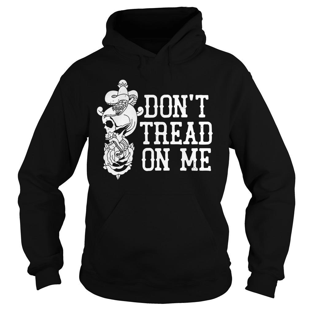 Garett Bischoff Don't Tread On Me Hoodie