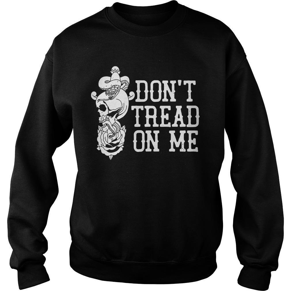Garett Bischoff Don't Tread On Me Sweater