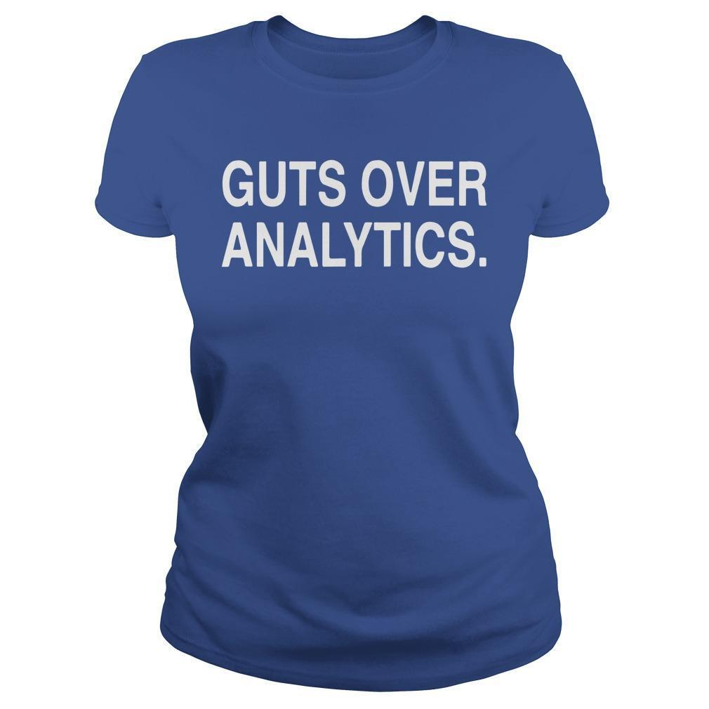 Guts Over Analytics Longsleeve