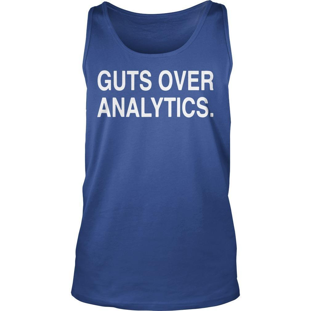 Guts Over Analytics Tank Top