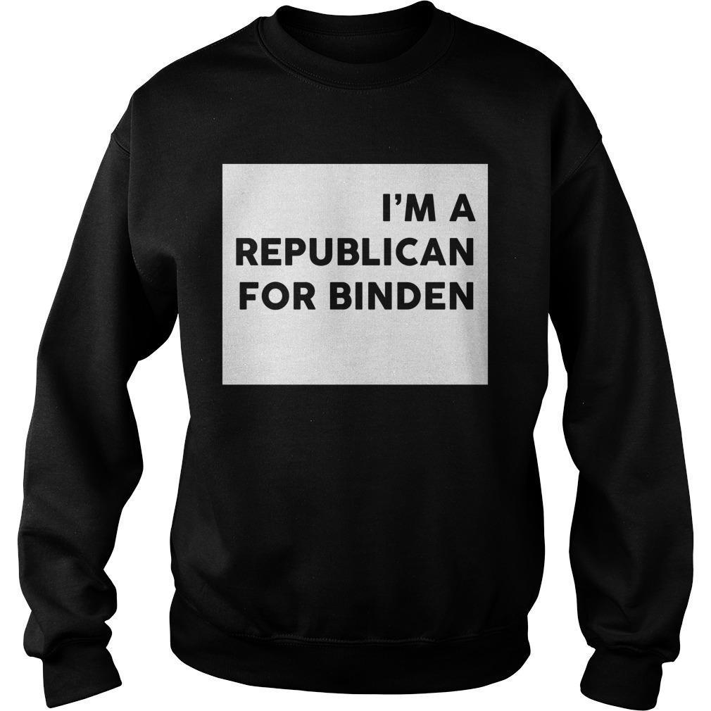 I'm A Republican For Biden Sweater