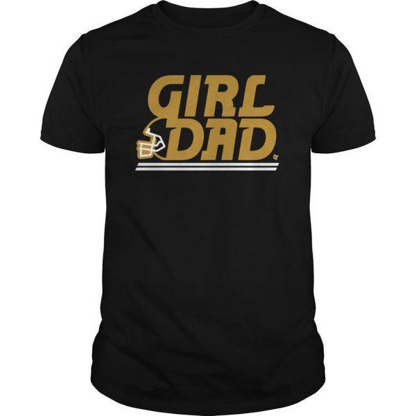 Kansas City Girl Dad Shirt