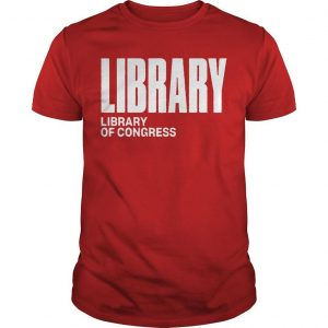 Library For Congress Library Shirt