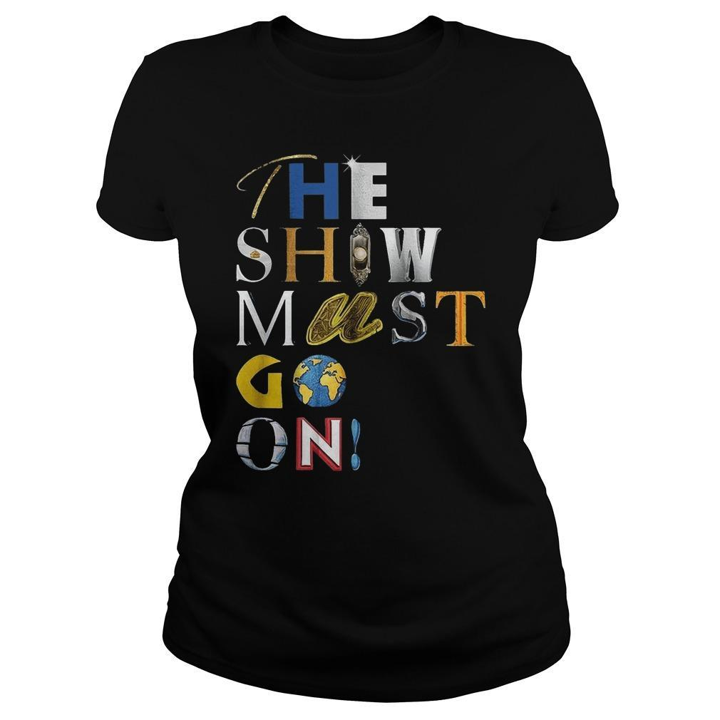 Palace Theatre The Show Must Go On T Longsleeve