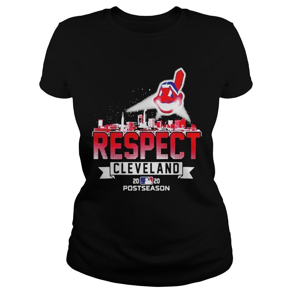 Respect Cleveland Indians Longsleeve