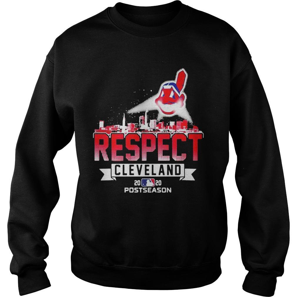Respect Cleveland Indians Sweater