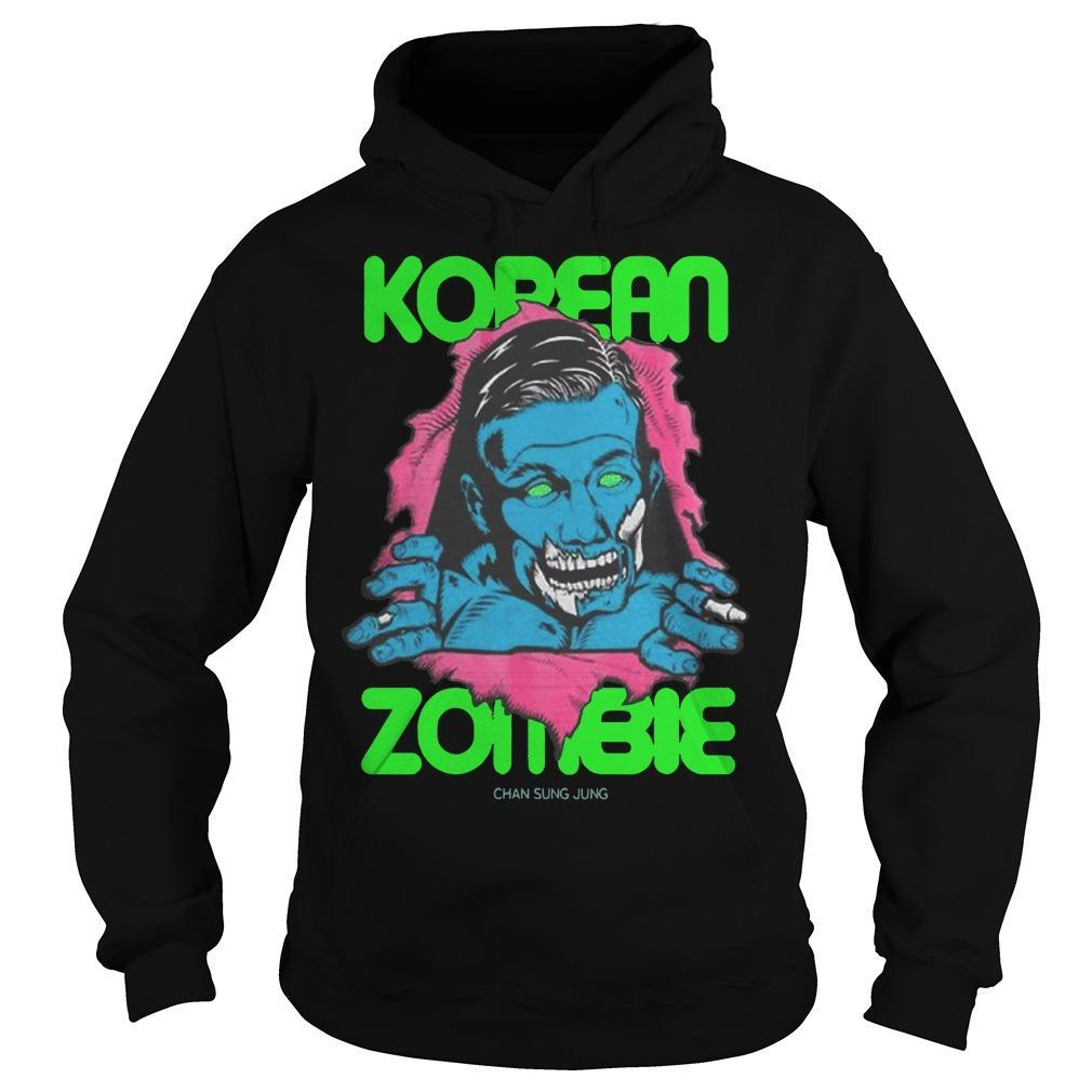 Return To Fight Island Ufc Fight Night Korean Zombie Hoodie