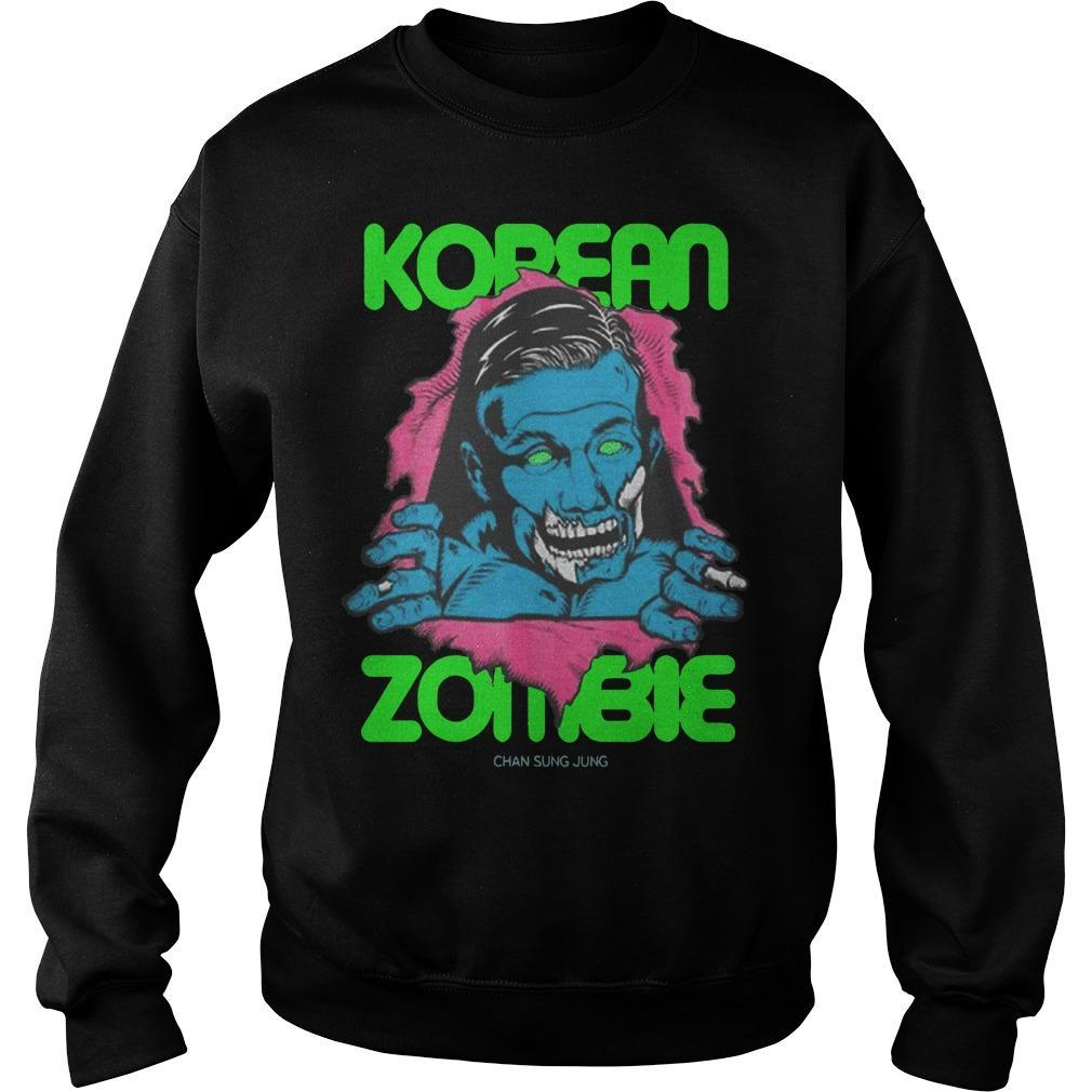 Return To Fight Island Ufc Fight Night Korean Zombie Sweater