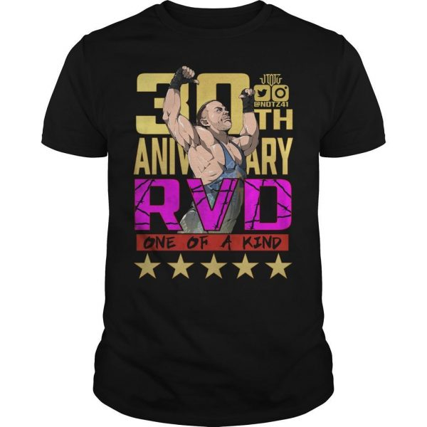 Rob Van Dam 30th Anniversary RVD One Of A Kind Shirt
