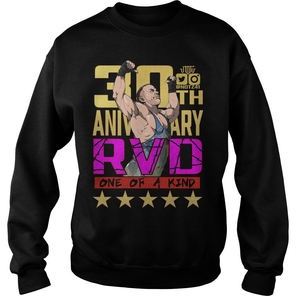 Rob Van Dam 30th Anniversary RVD One Of A Kind Sweater