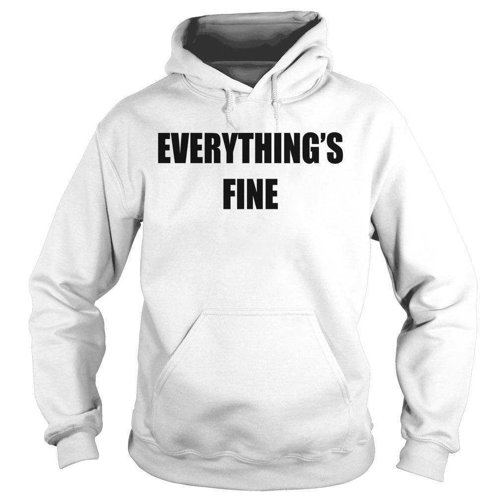 Sarah Cooper Everything's Fine Hoodie